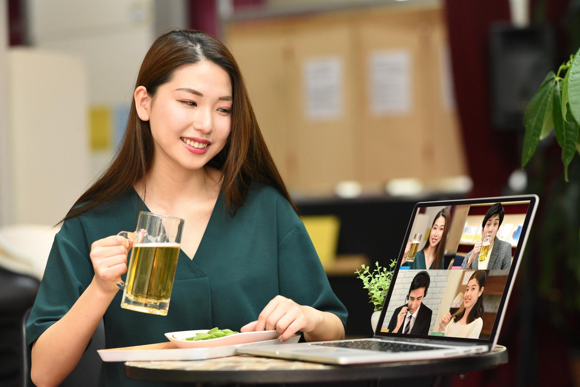移動販売協会オンライン飲み会提案